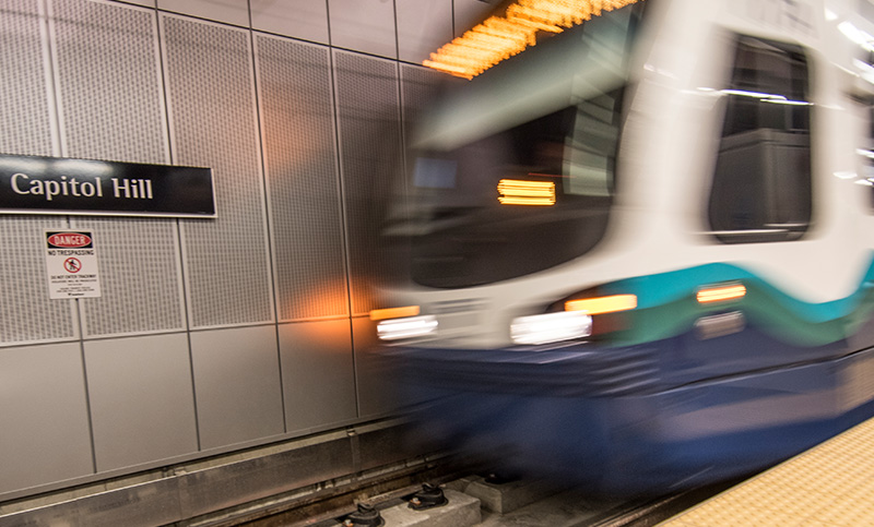 New light rail and street car provide transit options
